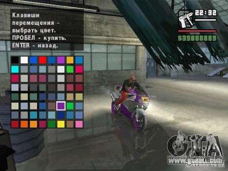 Carcols.dat By Russiamax for GTA San Andreas sixth screenshot