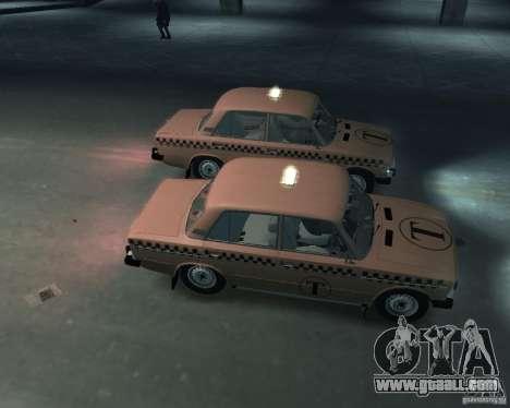 VAZ 2106 Taxi for GTA 4 inner view