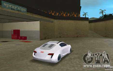 Audi RSQ concept for GTA Vice City back left view