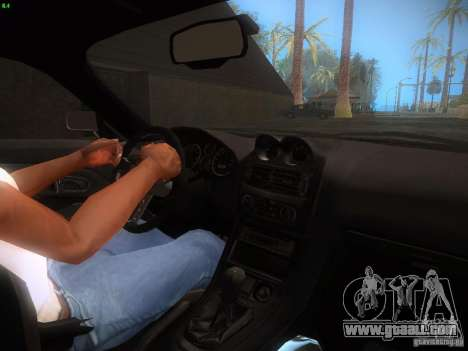 Mitsubishi FTO Tuning for GTA San Andreas right view