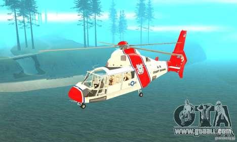AS-365N United States Coast Guard for GTA San Andreas