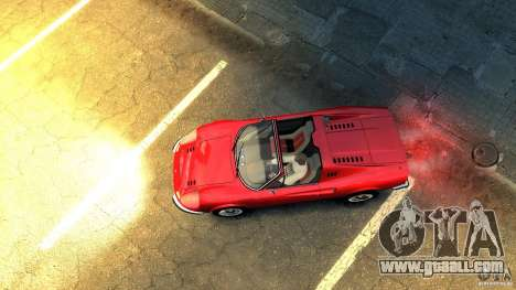 Ferrari Dino 246 GTS for GTA 4 back view