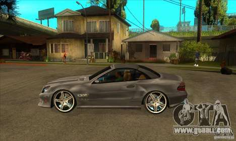 Mercedes-Benz SL65 AMG 2010 for GTA San Andreas left view