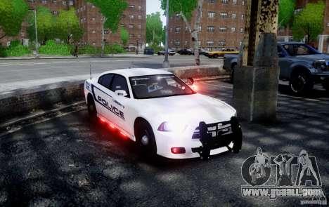 Dodge Charger 2012 Slicktop ELS for GTA 4 back left view