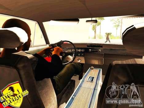 Dodge Charger Daytona Forsazh 6 for GTA San Andreas back left view