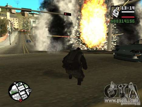 The explosives from cod mw2 for GTA San Andreas third screenshot
