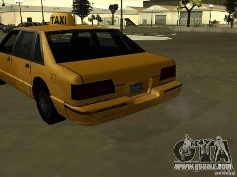 Realistic texture of original car for GTA San Andreas third screenshot