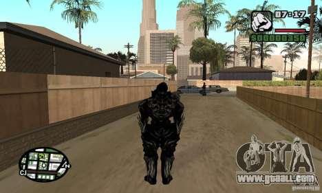 Alex Mercer v2 for GTA San Andreas second screenshot