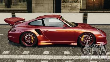 Porsche 997 GT2 Body Kit 1 for GTA 4 left view