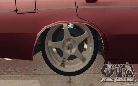 Vaz 2106 Lada for GTA San Andreas engine