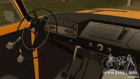 Moskvich 412 v2.0 for GTA San Andreas back view