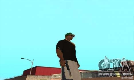 WEAPON BY SWORD for GTA San Andreas sixth screenshot