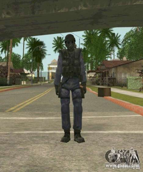 Counter-terrorist for GTA San Andreas ninth screenshot