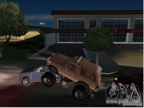 Ford Bronco IV Monster for GTA San Andreas side view