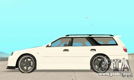 Nissan Stagea GTR for GTA San Andreas back view