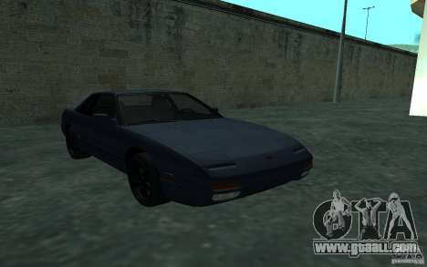 Nissan Onevia (Silvia) S13 for GTA San Andreas back view