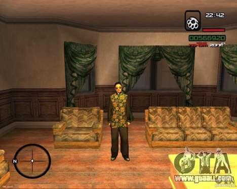 Change Skin for GTA San Andreas second screenshot