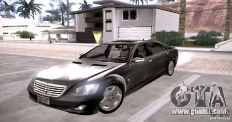 Mercedes-Benz S600 v12 for GTA San Andreas