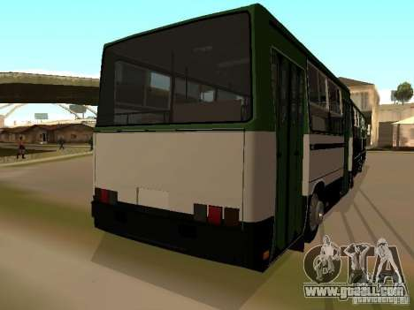 Trailer for IKARUS 280 33 m for GTA San Andreas back left view