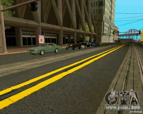 GTA 4 Roads for GTA San Andreas eighth screenshot