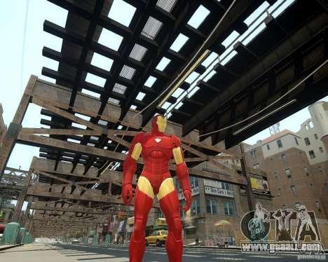 Iron Man Mk3 Suit for GTA 4 forth screenshot
