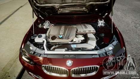 BMW 335i 2013 v1.0 for GTA 4 back view