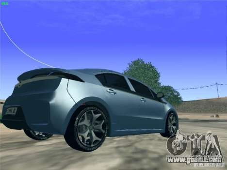 Opel Ampera 2012 for GTA San Andreas left view