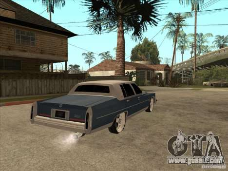 Cadillac Fleetwood Brougham 1985 for GTA San Andreas right view