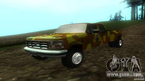 Ford F350 1992 for GTA San Andreas left view
