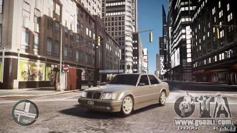 Mercedes Benz W124 E500 for GTA 4
