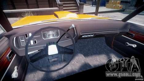 Dodge Dart GT 1975 [Final] for GTA 4 back view