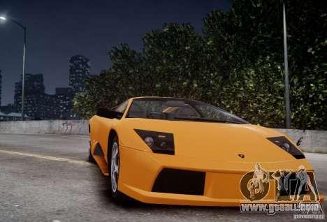 Lamborghini Murcielago for GTA 4 back view