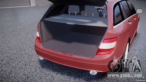 Mercedes-Benz C 280 T-Modell/Estate for GTA 4 upper view