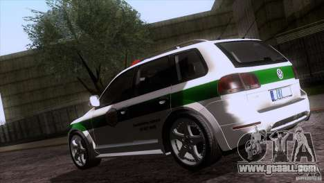 Volkswagen Touareg Policija for GTA San Andreas side view