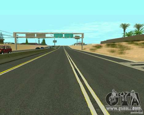 GTA 4 Road Las Venturas for GTA San Andreas eighth screenshot