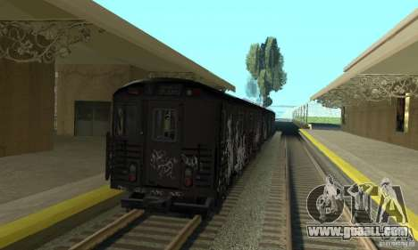 GTA IV Enterable Train for GTA San Andreas right view