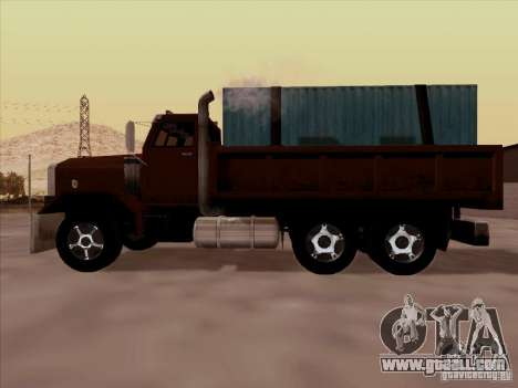 New Flatbed for GTA San Andreas inner view