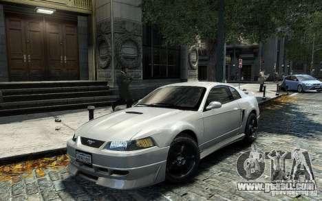 Ford Mustang Cobra R for GTA 4 back left view