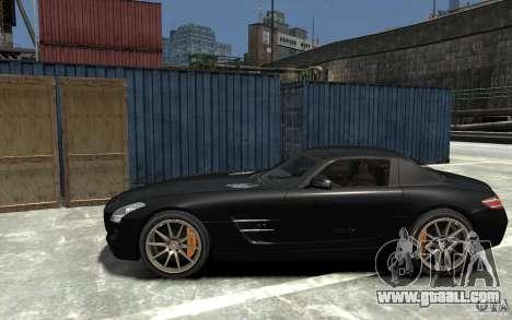 Mercedes-Benz SLS AMG 2011 v3.0 for GTA 4 left view