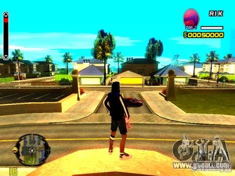 Skin bum v8 for GTA San Andreas second screenshot
