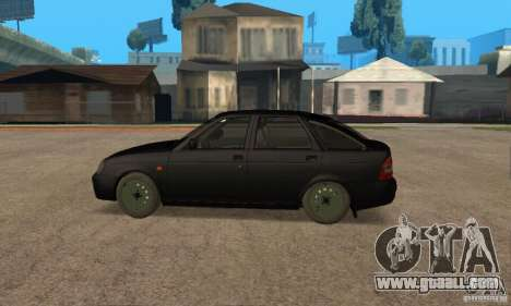 LADA priora 2172 hatchback for GTA San Andreas left view