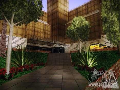 The new hospital of Los Santos for GTA San Andreas third screenshot
