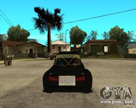 VAZ 2104 volk for GTA San Andreas back view
