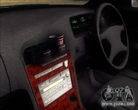 Toyota Mark II GX90 v.1.1 for GTA San Andreas back view