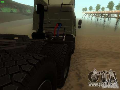 KAMAZ 6460 for GTA San Andreas right view