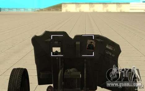 Regiment gun, 53-45 mm for GTA San Andreas right view