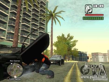 THE MIZ T-shirt for GTA San Andreas third screenshot