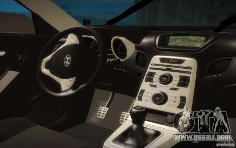 Hyundai Genesis 3.8 Coupe for GTA San Andreas side view