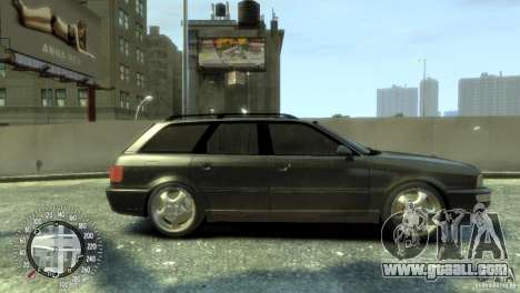 Audi RS2 Avant for GTA 4 back left view