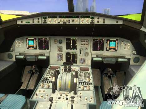 Airbus A-320 S7Airlines for GTA San Andreas right view
